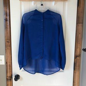 Blaque label sheer blouse